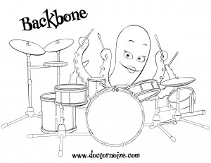 Backbone Coloring Page