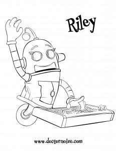 Riley Coloring Page