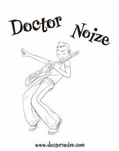 Doctor Noize Coloring Page