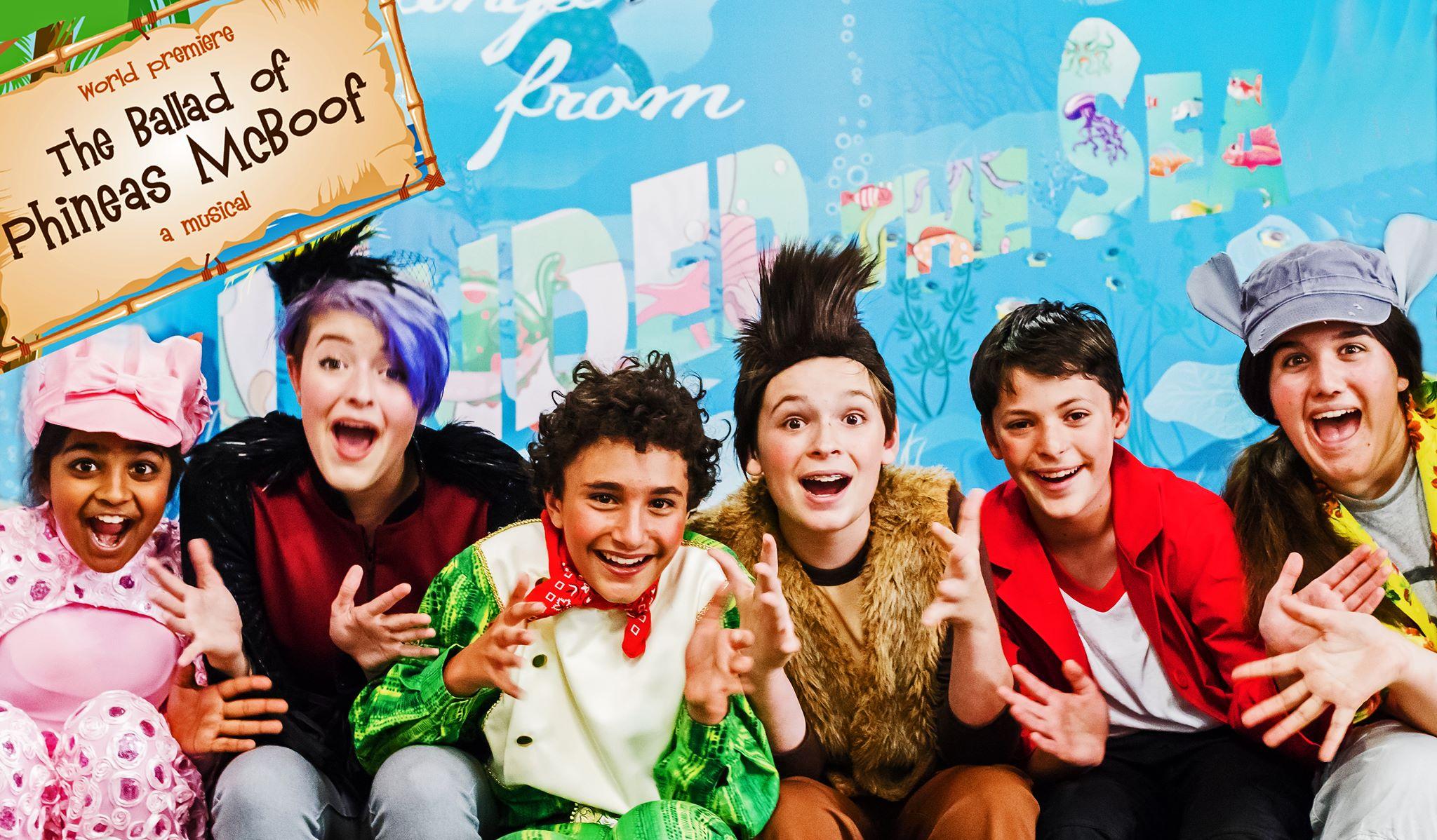 Original Cast -- Palo Alto Children's Theatre