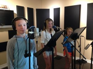 Kids Recording @ Reach Studios