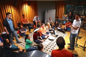 Recording the Stanford Chamber Chorale