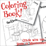 Character Coloring Book
