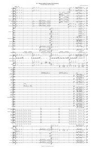 Symphony Show Score