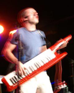 Playing Keyboard Live