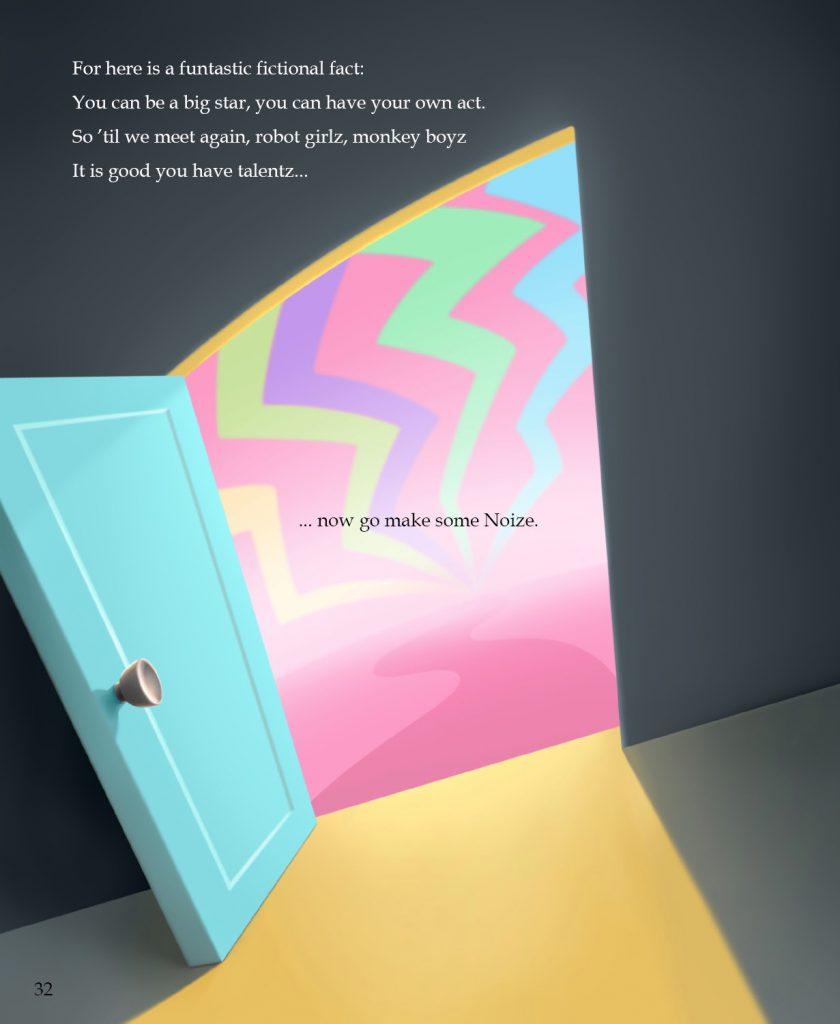 Empty Door Page