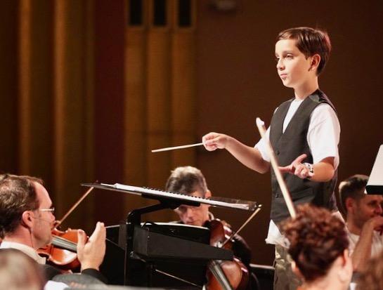 The Mini Maestro Conducts